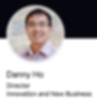 Danny Ho smiling in his LinkedIn profile photo