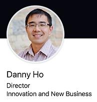Danny Ho smiling