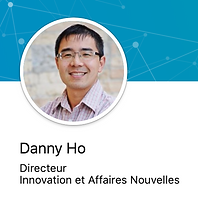 Danny Ho souriant pour sa photo de profil LinkedIn