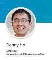 Danny Ho souriant pour sa photo de profil LinkedIn