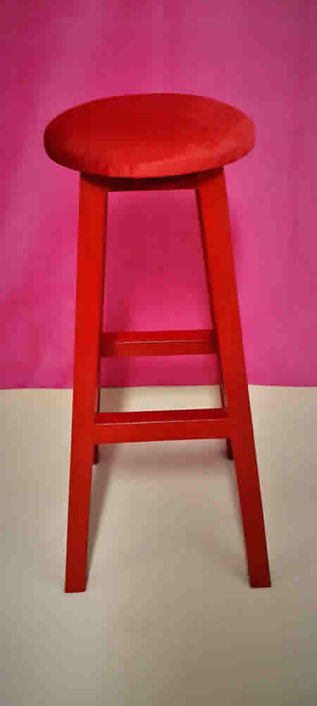 kırmızı tabure 102