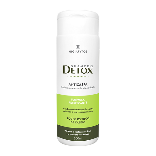 Detox Shampo Anticaspa 200ml