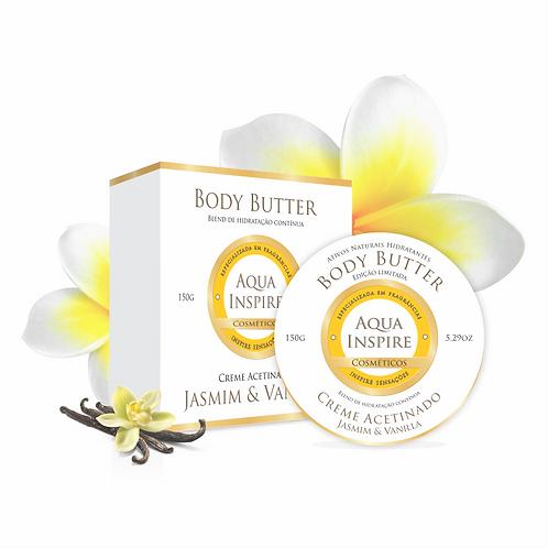 Body Butter Jasmim & Vanilla 150g