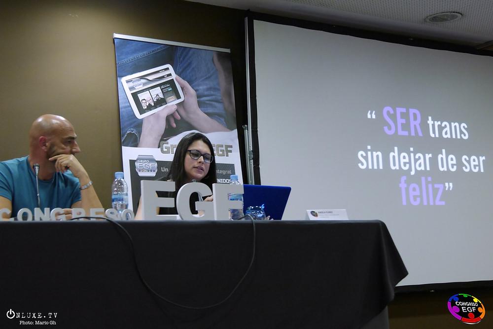 Intervención de Ángela Flórez en Congreso EGF