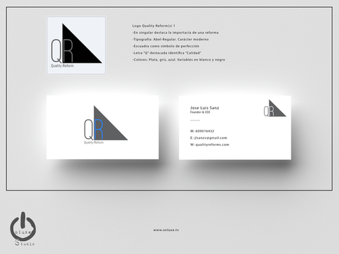 Mockup tarjeta y logo QR1