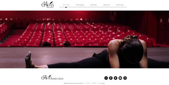 Web Compañía Las Artes