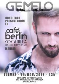 Diseño Cartel concierto
