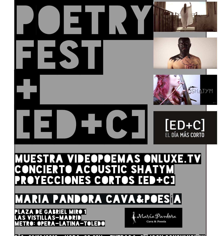 VideoPoetry Fest Onluxe