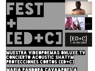 VideoPoetry Fest Onluxe + [ED+C]