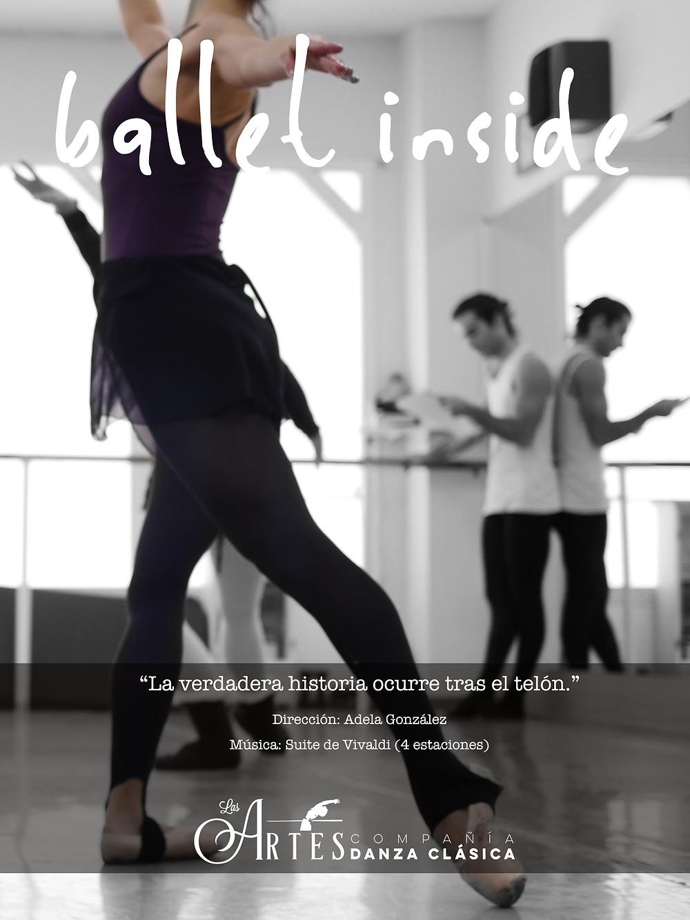 Ballet Inside Comp. Las Artes - Poster Design: MarioGh