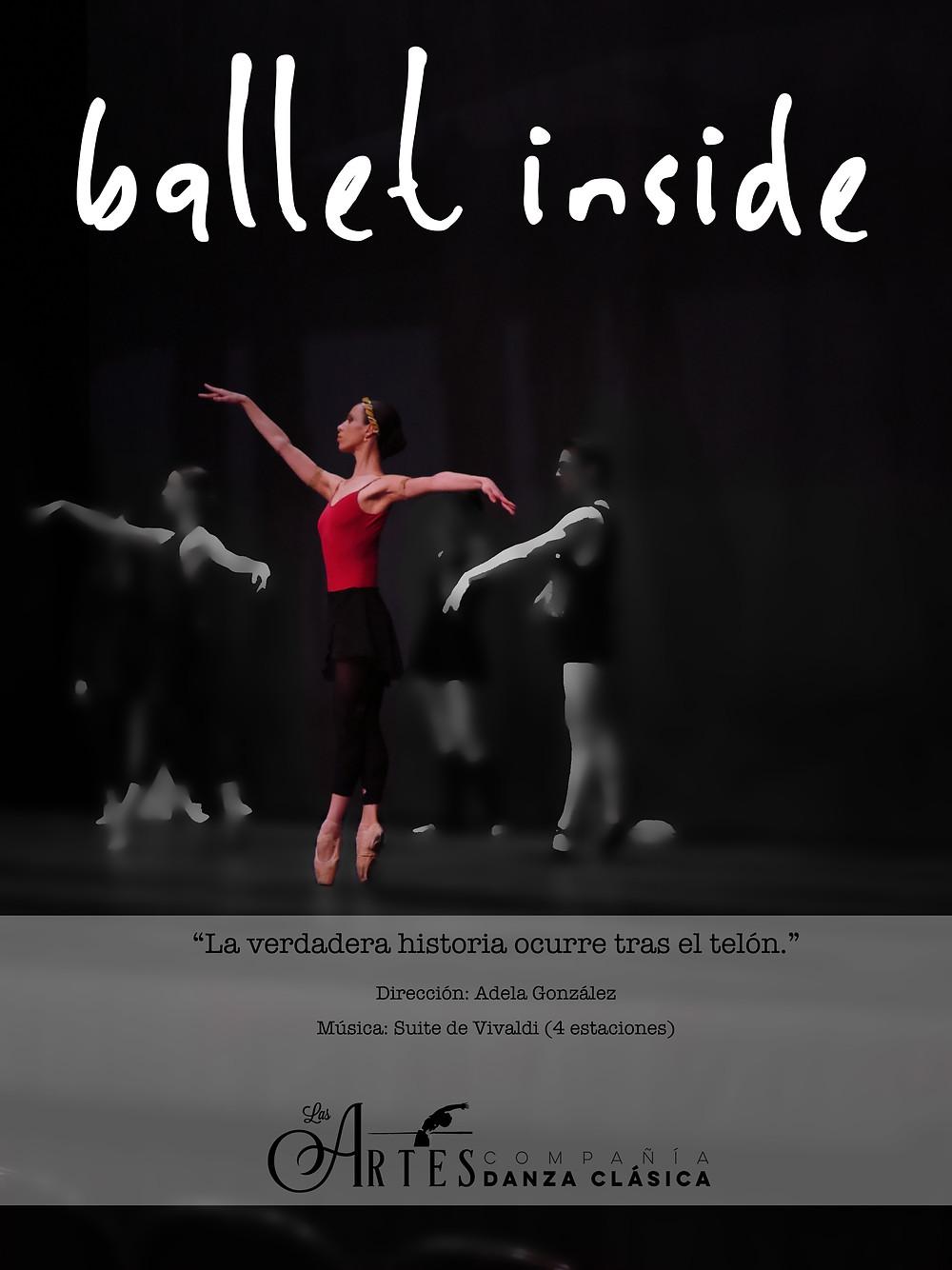 ballet inside Compañía de Danza Las Artes
