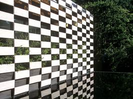 Wall of art Kengo Kuma Japan