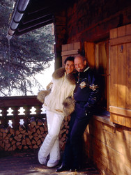 WILLI & SONIA BOGNER Fashion Designers St. Moritz home