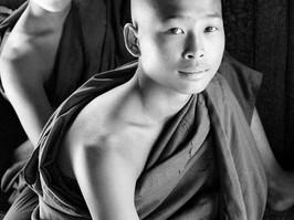 Buddhist Novice, Mandalay, Burma