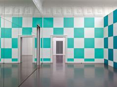 """""""Square Space"""" (Daniel Buren, Allegro Vivace 1), Staatliche Kunsthalle Baden-Baden, 2011"""