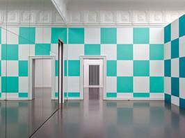 05. Square Space Daniel Buren, Allegro Vivace 1, Staatliche Kunsthalle Baden-Baden, 2011.JPG