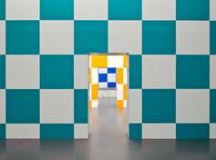 SQUARE SPACE II (Daniel Buren, Allegro Vivace 14), Staatliche Kunsthalle Baden-Baden, 2011