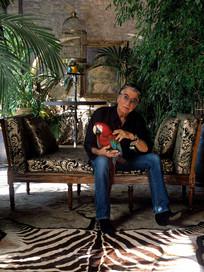 ROBERTO CAVALLI  Fashion Designer Florence' home