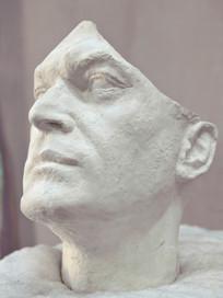 NOT VITAL  ARTIST sculpture Sent Engadine