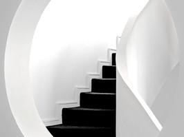 Black Staircase Paris