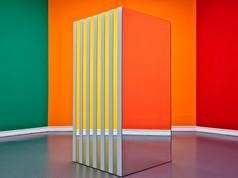 SQUARE SPACE III (Daniel Buren, Allegro Vivace 2), Staatliche Kunsthalle Baden-Baden, 2011