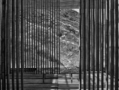 Great Wall China, Kengo Kuma, bamboo wall