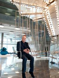 PETER SIMON  CEO Monsoon - Accessorize London Headquarters office