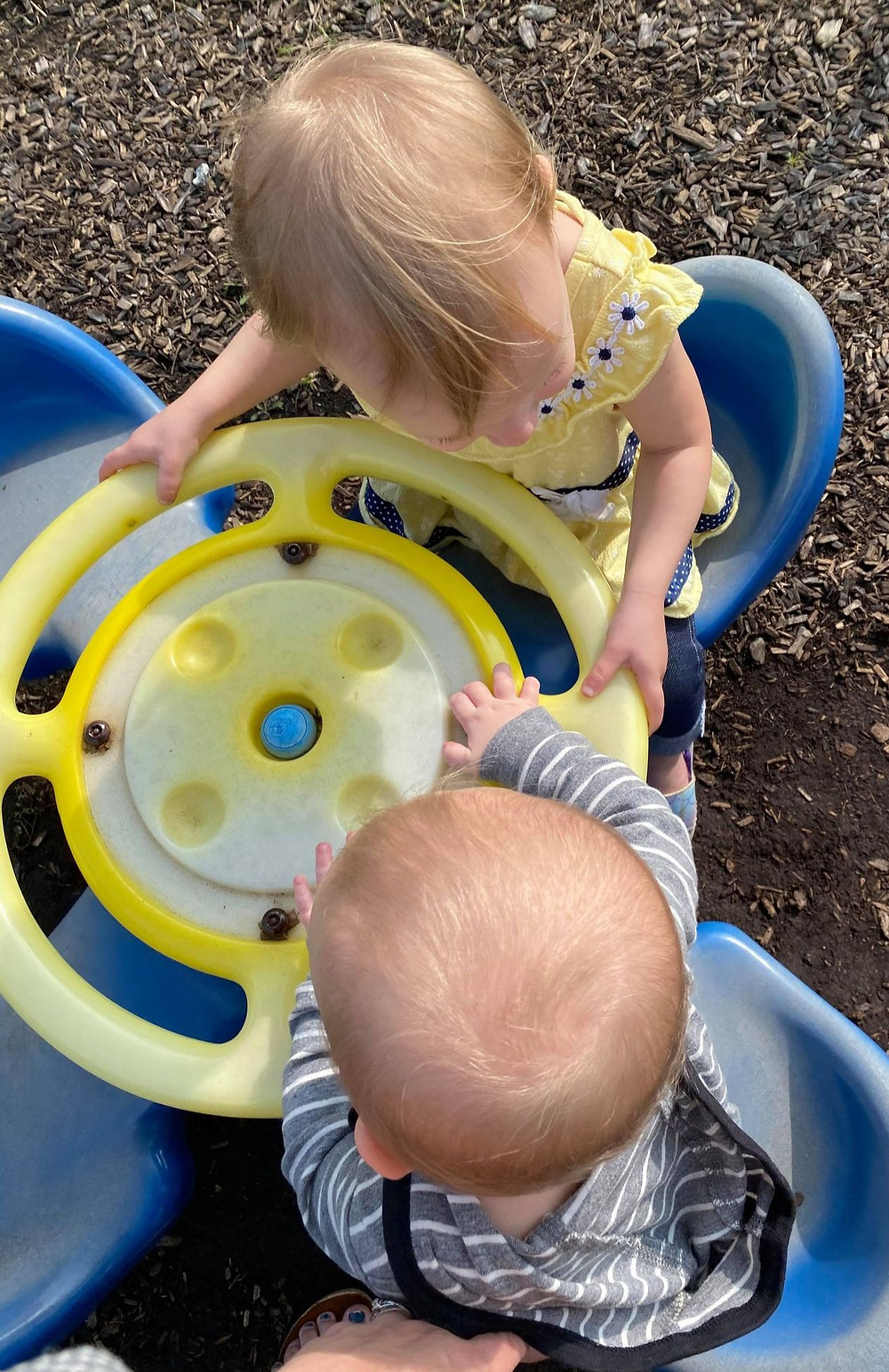 toddlers, playing, camping, travel, family, jellystone
