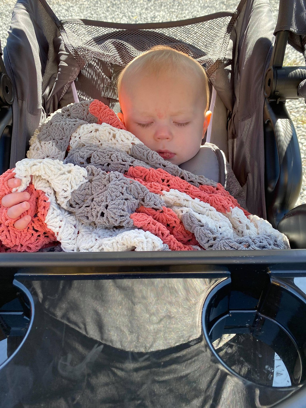 baby, toddler, infant, sleeping, camping