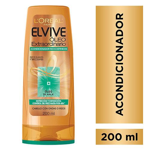 Elvive Acondicionador Oleo Extraordinario Rizos Definidos x 200 ml.