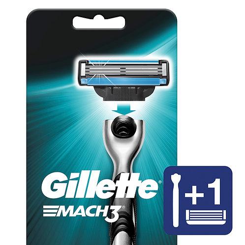 Gillette Maquina Mach 3 Negra x 1