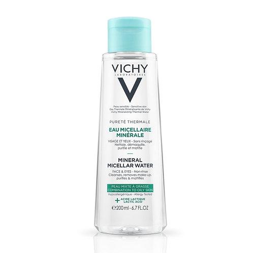 Agua Micelar para pieles oleosas y mixtas x 200ml de Vichy