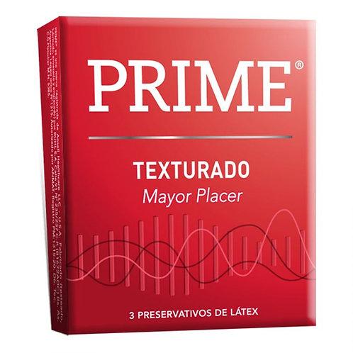 Prime Preservativo Texturado x 3 unidades