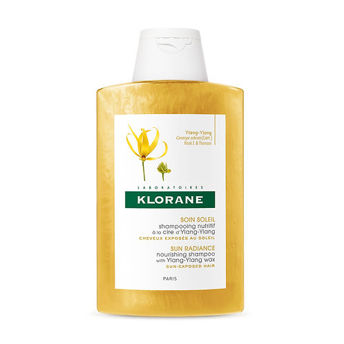 Klorane Shampoo a la cera de Ylang - Ylang 200 ML