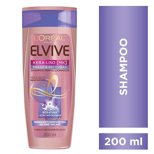 Shampoo Keraliso Brillo y Sedosidad x 200 ml.