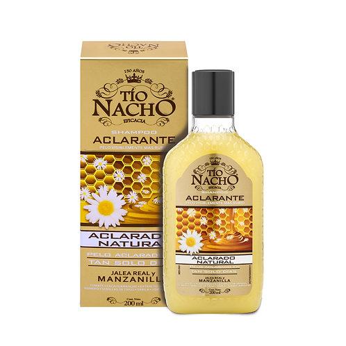 TIO NACHO shampoo aclarante x 200 ml