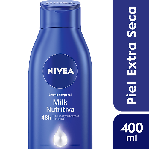 Nivea Body Milk Nutritiva - Piel Extra Seca x 400 ml.