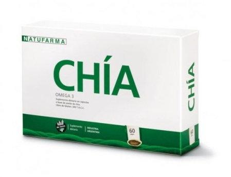 NATUFARMA Chia Caps. x 60