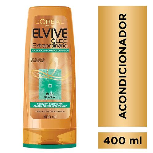 Elvive Acondicionador Oleo Extraordinario Rizos Definidos x 400 ml.