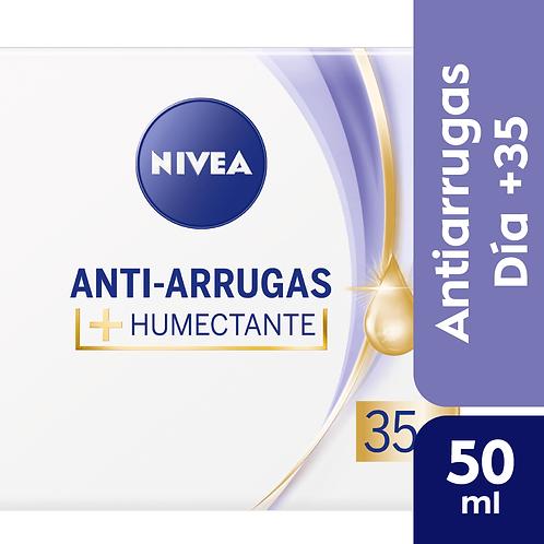 Nivea Facial Anti-Arrugas 35+ Crema de dia humectante x 50 ml