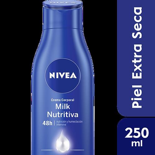 Nivea Body Milk Nutritiva - Piel Extra Seca x 250 ml.