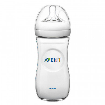 Avent Mamadera natural 330ml  con tetina n? 3 nat
