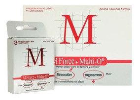 PRESERVATIVOS M MFORCE + MULTI O - NUEVO FORMATO 3 X 10