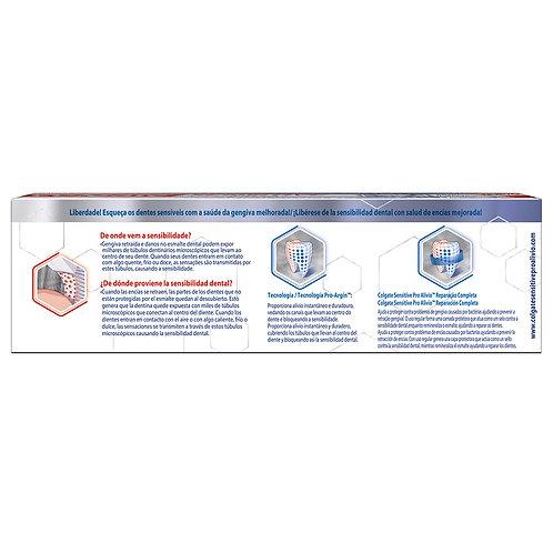 Colgate Crema dental sensitive pro alivio Reparacion completa 110gr