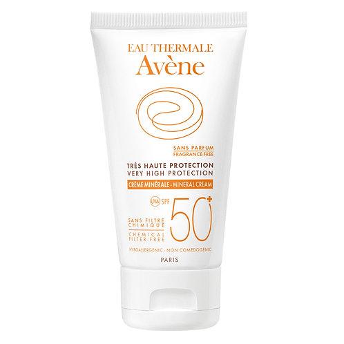 Avene Protector Solar Crema Mineral SPF 50 50ml