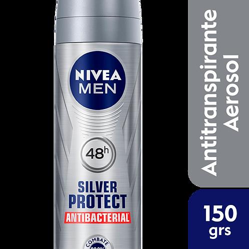 Nivea Men Desodorante Spray Silver Protect Antibacterial x 150ml