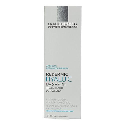 Anti edad Redermic Hyalu C UV con acido hialuronico y vitamina C 40ml