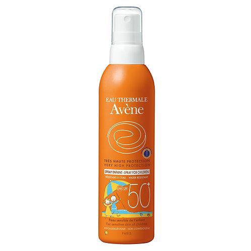 Avene Protector Solar Spray Especial Ninos SPF 50 200ml