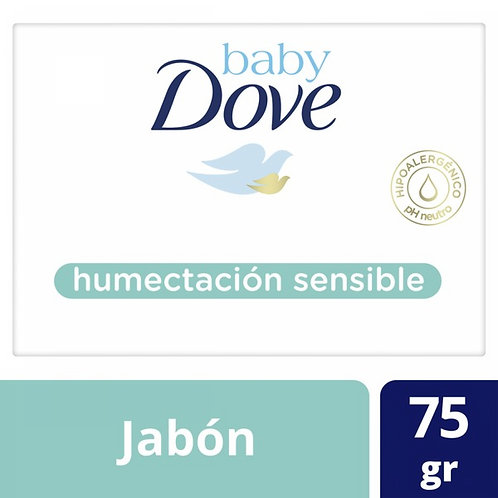 DOVE BABY JABON SENSIBLE X75G EXP