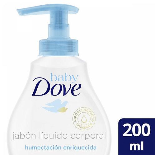 DOVE BABY JABoN LIQ H ENR X200ML EXP